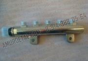Рампа топливная (рейка) 0445214124 с датчиком давления в сборе BAW 1044, 1065 Eвро 3 FAW 1041, 1051 Евро 3